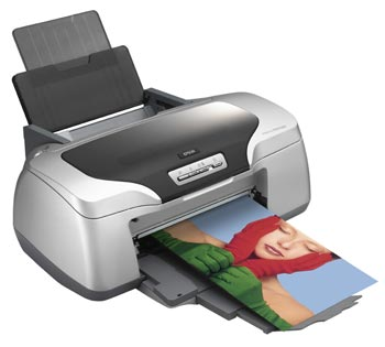 EPSON Stylus Photo R800, A4,8 ink, 17 ppm, CD/DVD print,USB