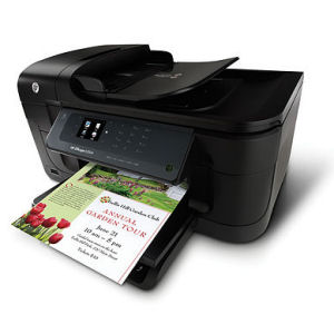 HP OfficeJet 6500A eAIO/ A4/ print+scan+copy+fax/4800x1200/ LCD displej/ LAN/ Černá)