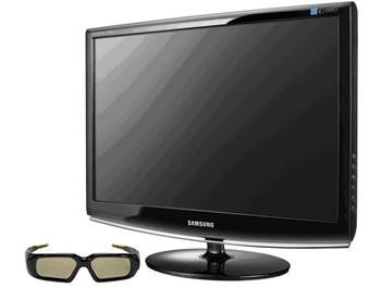 Nvidia geforce 3d vision 3d brýle lcd samsung 2233rz
