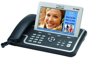 "WELL VP-2009 IP video telefon, SIP, 7"" dotyk. LCD displej"