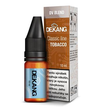 Dekang e-liquid DV Blend 10ml, 0mg