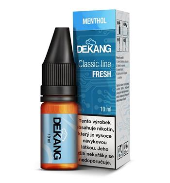 Dekang e-liquid Mentol/Menthol 10ml, 0mg