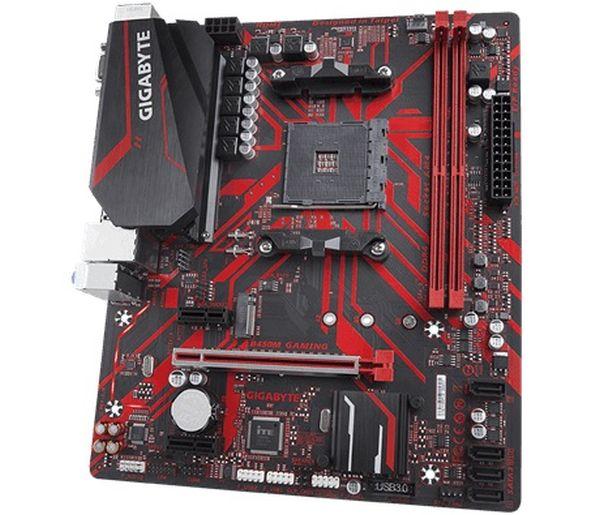 GIGABYTE MB Sc AM4 B450M GAMING, AMD B450, 2xDDR4, VGA, mATX