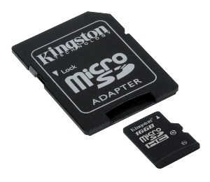 KINGSTON 32GB microSDHC Class 10 karta s adaptérem
