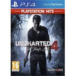 SONY PS4 hra Uncharted 4: A Thief's End HITS