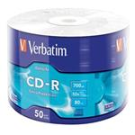 VERBATIM CD-R 700MB, 52x, wrap 50 ks