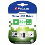 VERBATIM flashdisk 32GB USB 2.0 Store n Stay NANO